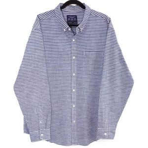American Eagle Outfitters Prep Fit Striped Shirt